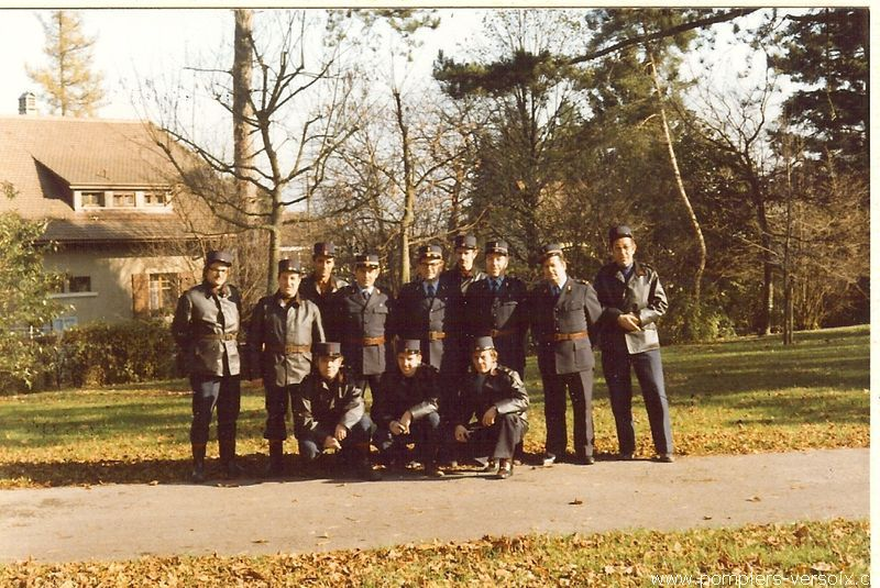 Cours chauffeurs 1977