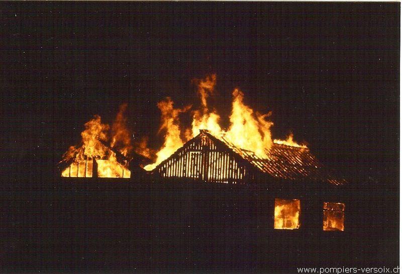 1980-1990 Incendie menuiserie