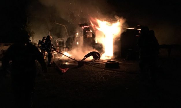 22.04.2018 – Incendie – Bâtiment – Villa