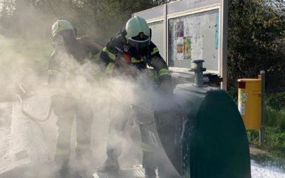 02.04.21 Intervention Incendie – Voie publique – Détritus