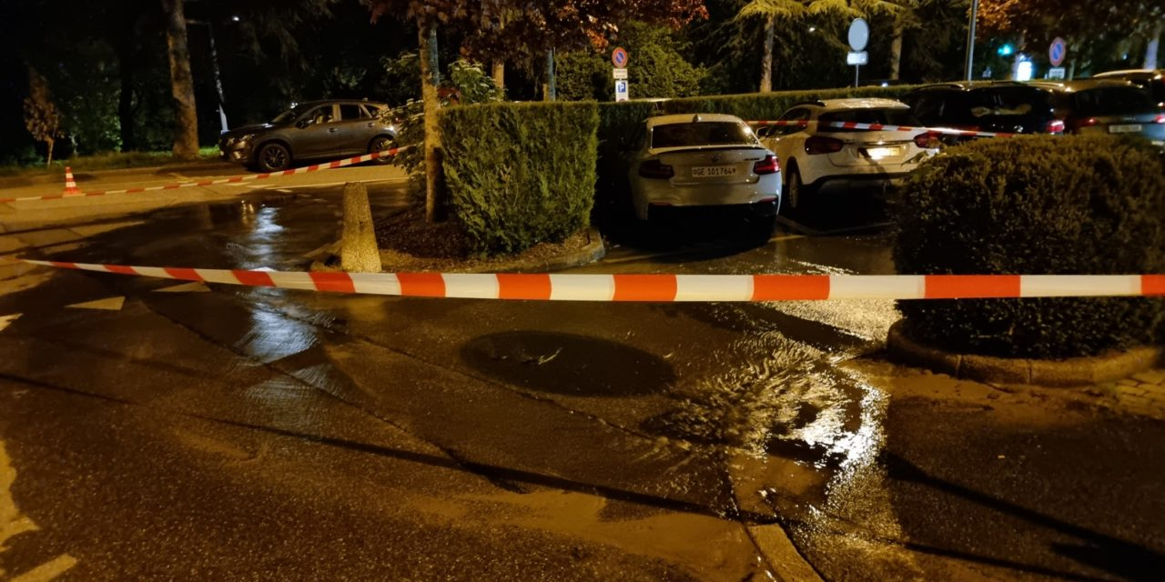 14.05.21 Inondation – Voie public – Canalisation / Conduite