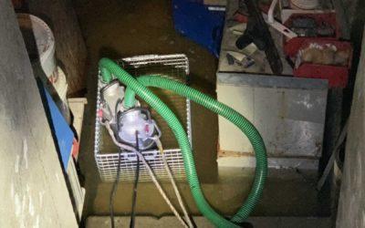16.08.2021 Inondation – Bâtiment – Cave